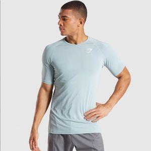 Gymshark Veer T-shirt - Gravel Blue (XL)
